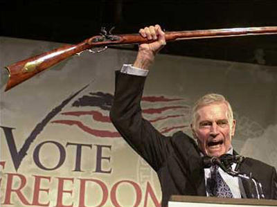 Charlton Heston - cold dead hands