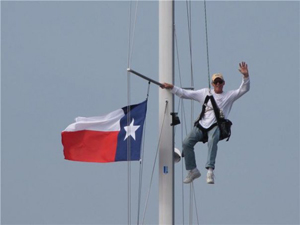Distress signal for Texas