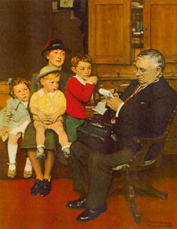 CountryDoctor-norman-rockwell1