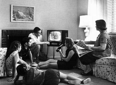 family life in the '50's