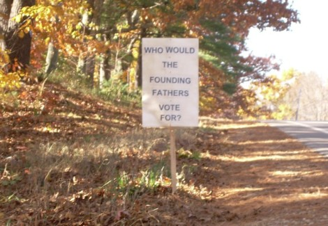 Founding Fathers vote for
