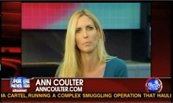 Fox's anncoulter