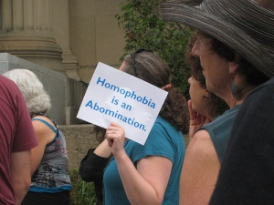 Homophobia is the Real Abomination
