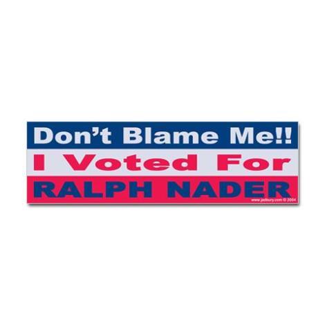 Nader vote