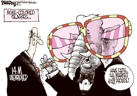 rose-colored glass of GOP
