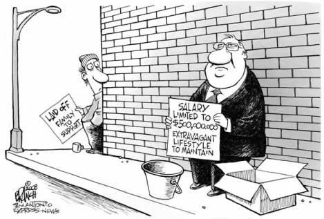 the wealthy poor