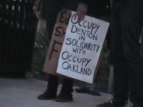 Occupy Denton 1