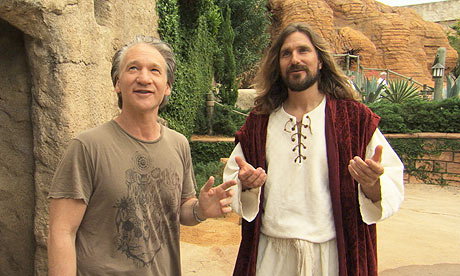 Maher and Jesus actor