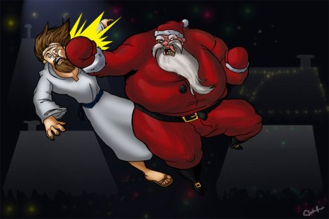 santa_vs_jesus_by_kuraichan-d34m3i9