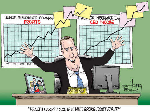 Image result for cartoon lack of adequate healthcare insurance