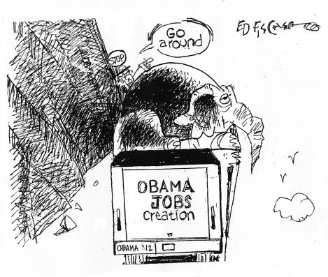 Republican job obstruction