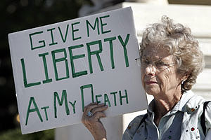 in support of Oregon's death with dignity law