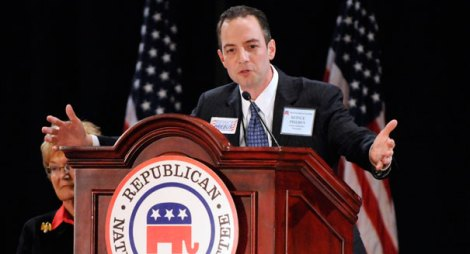 National Republican Chairman Reince Priebus