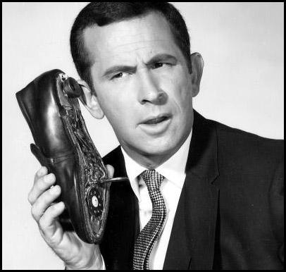 Maxwell Smart's shoe phone