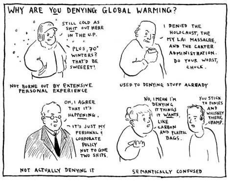 global warming deniers