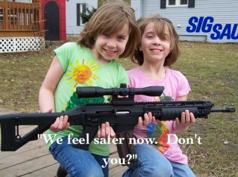 feeling safer?