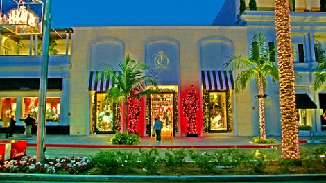 The Juicy Couture boutique in Beverly Hills, Calif ain't got nothing on Merry and Dave's home decorations in Frisco, Tex.