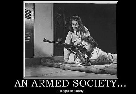 armed society is polite society