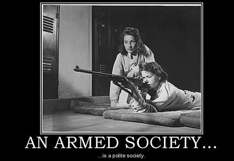 armed society is polite society