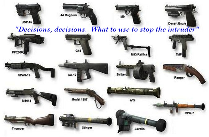 Pictures of Different Types Of Guns List - #rock-cafe