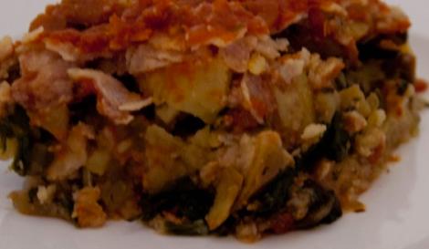 enchilada dish