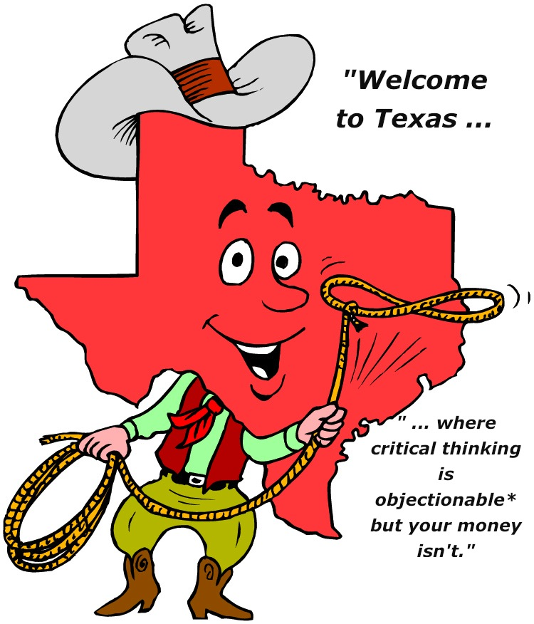texas gop no more critical thinking in schools Learn more about school sucks across america a weekend with  texas gop  declares: no more teaching of 'critical thinking skills' in.