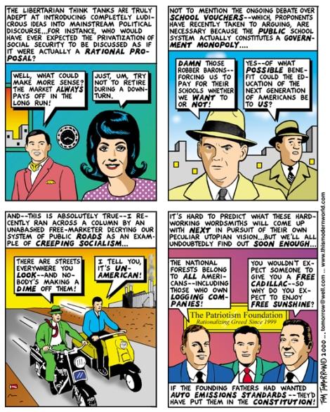 libertarian free markets