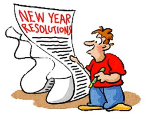 2014 New Year Resolution