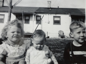Barbara, Richard and Me circa 1951-52