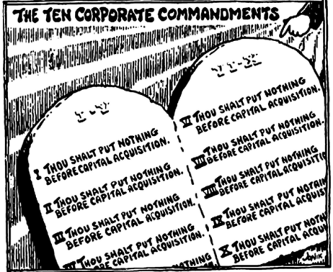 tencorporatecommandments