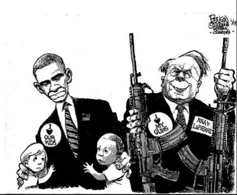 NRA'sloveof guns